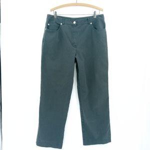 St John's Sport Charcoal Gray Casual Pants